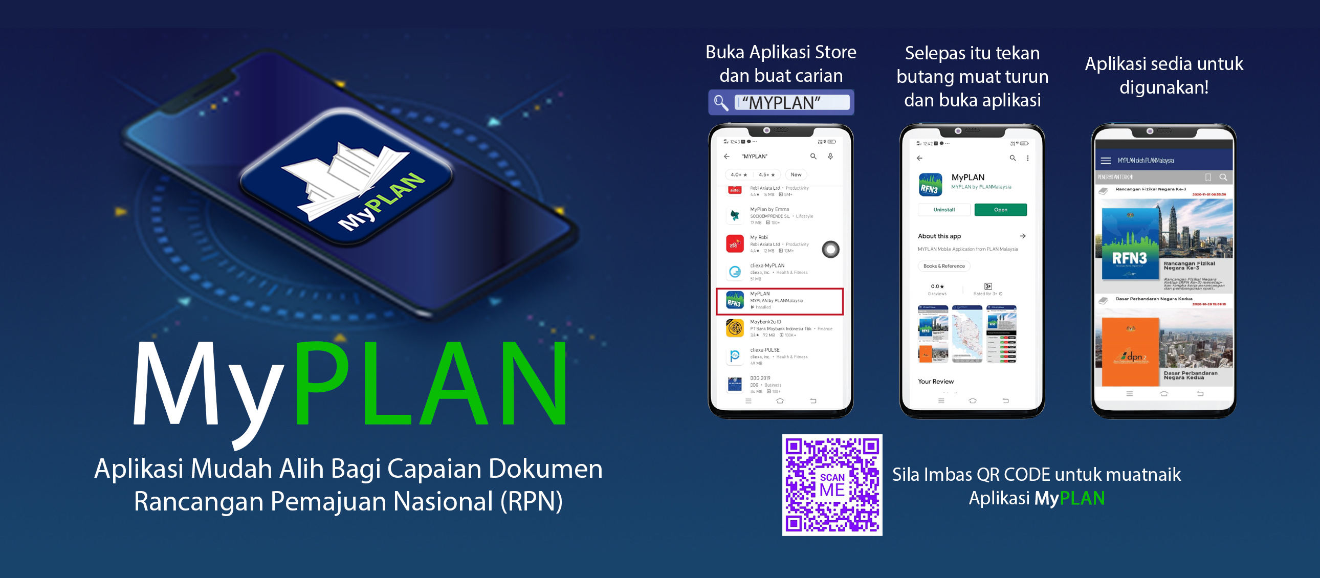 Banner MyPLAN PLANMalaysia